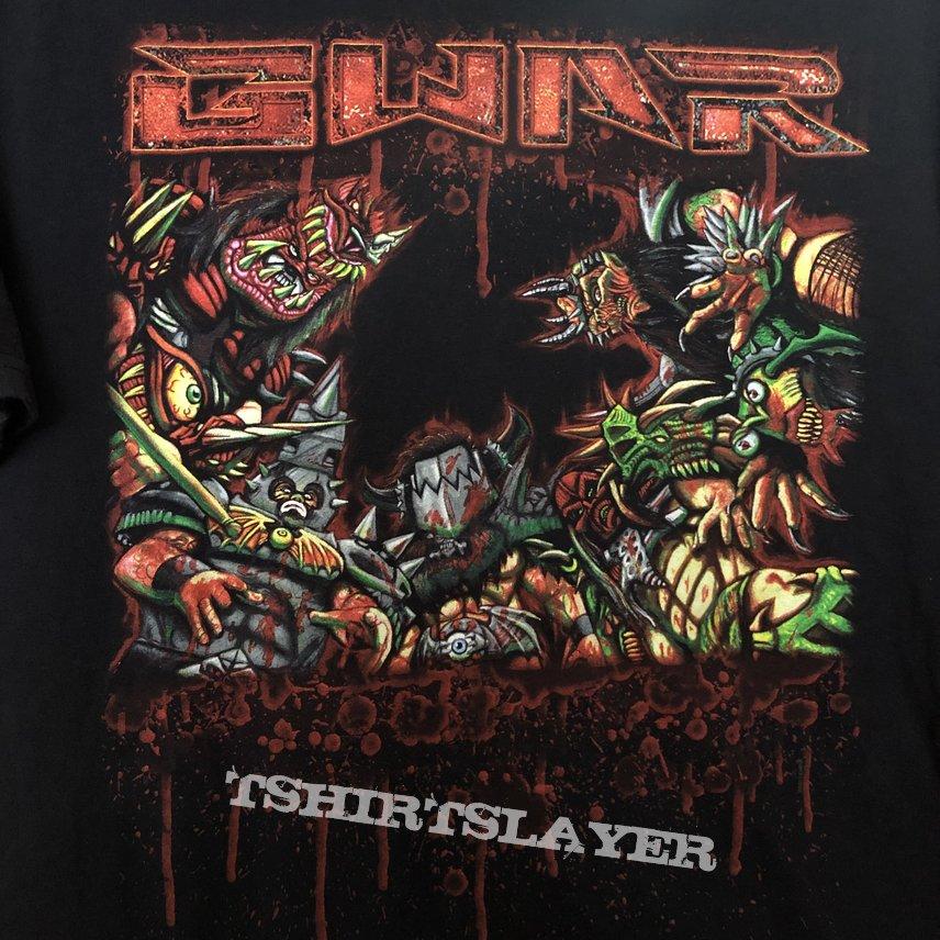 GWAR 2012 Tour shirt