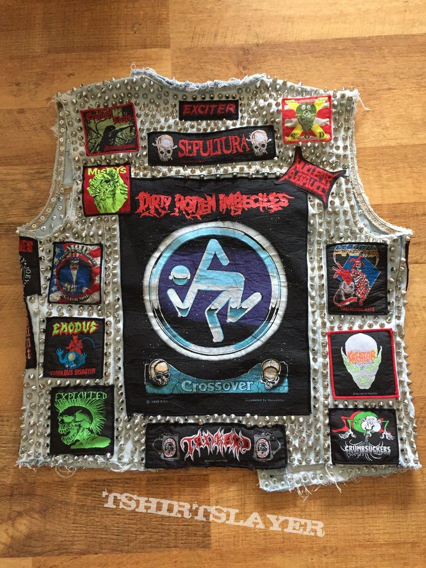 Crossover Thrash Hardcore Punk Jacket