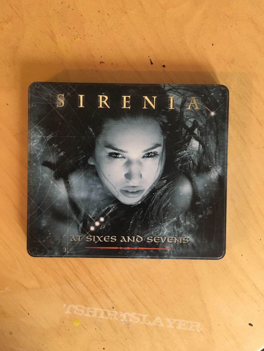 Sirenia - At Sixes and Sevens - Metal CD Box