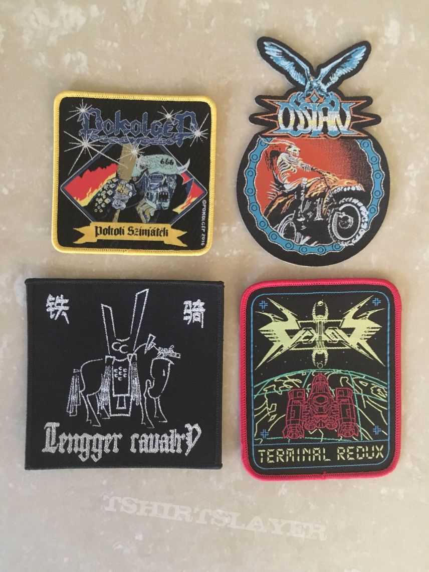 Some new patches I ordered