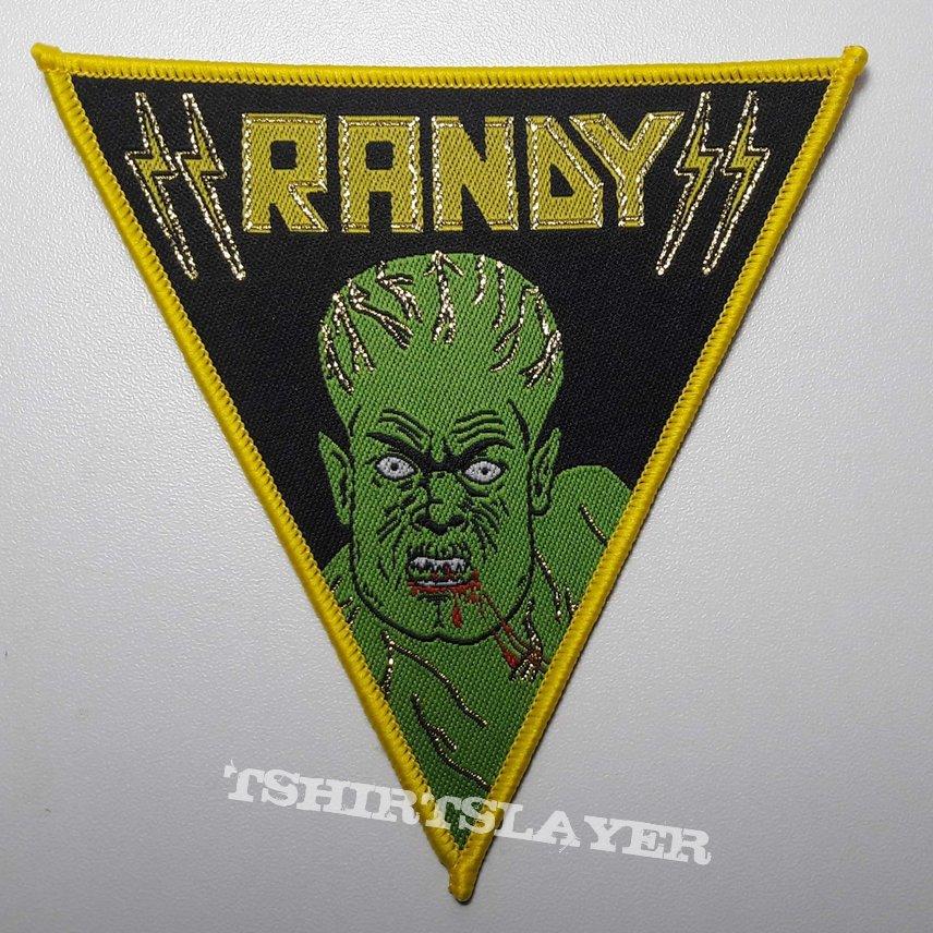 Randy Woven Patch