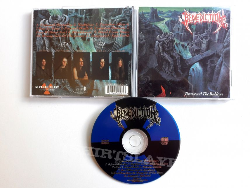 Benediction - Transcend the Rubicon  Collection CD