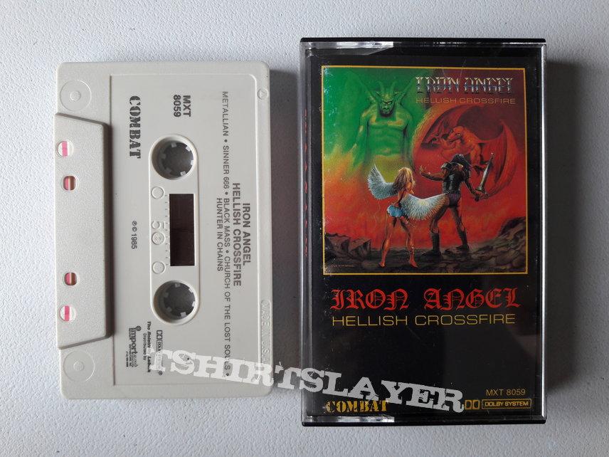 Iron Angel - Hellish Crossfire Cassette