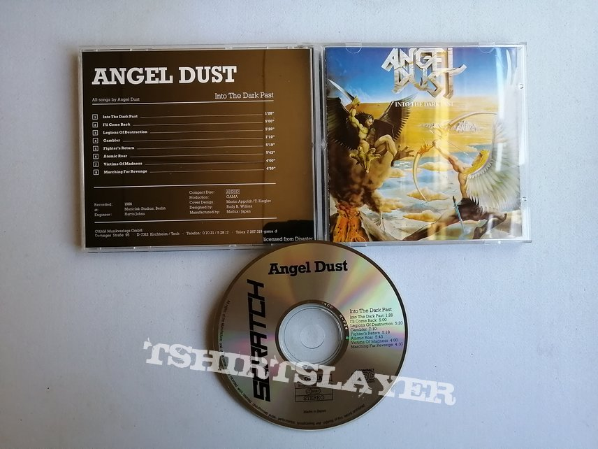 Angel Dust - Into the Dark Past