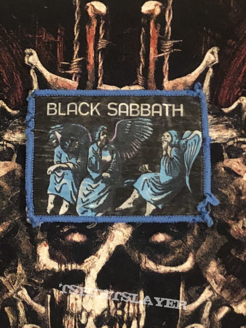 Black Sabbath - Heaven & Hell Patch (Blue Border)