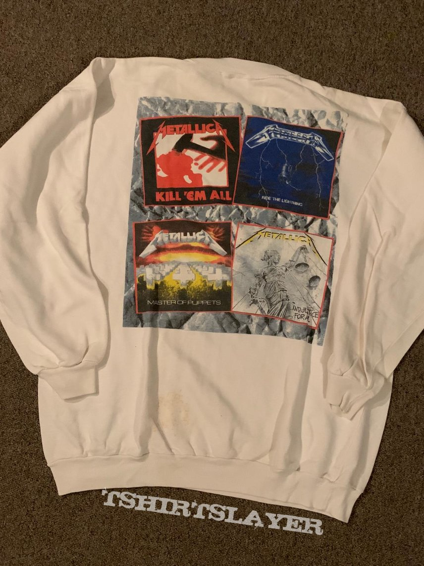 Metallica Justice For All sweater XL