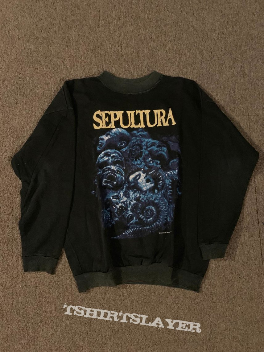 Sepultura Chaos AD sweatshirt XL
