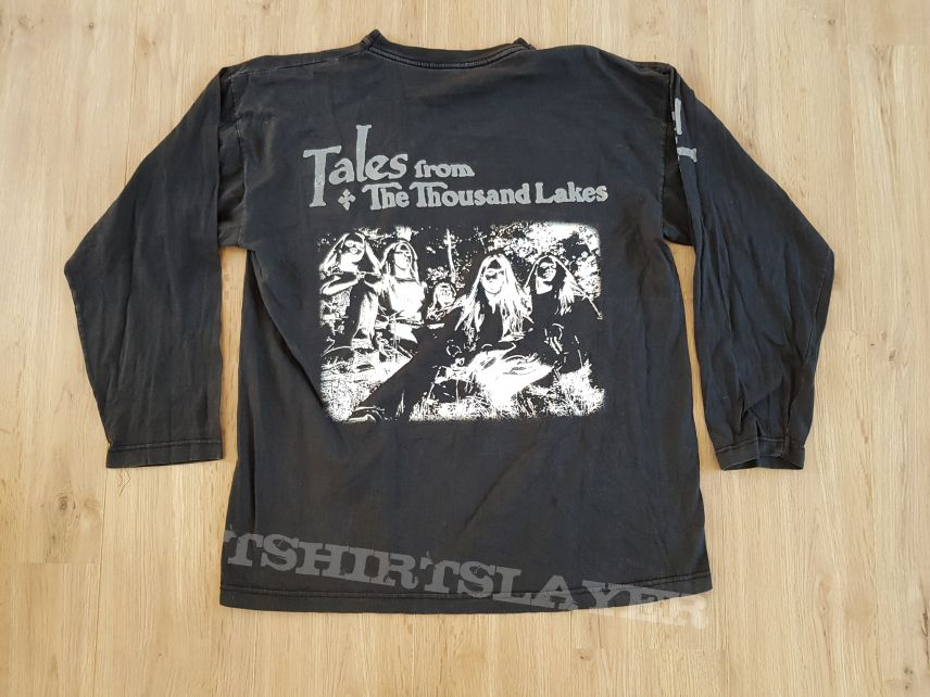 1994 Amorphis Tales from the thousand lakes Longsleeve Shirt XL