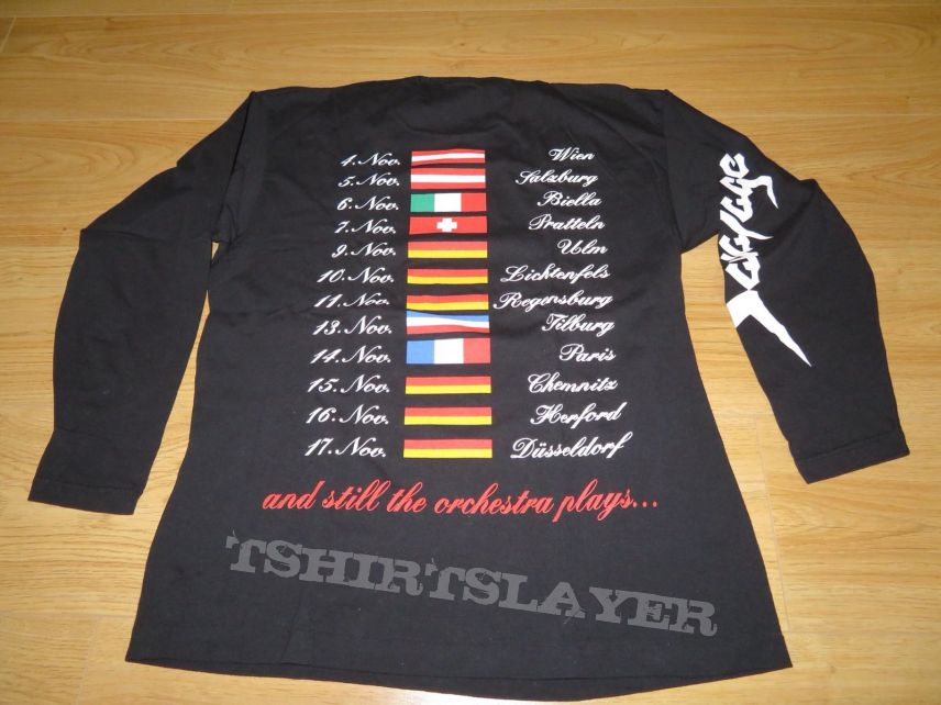 Savatage - And still the orchestra plays tour longsleeve