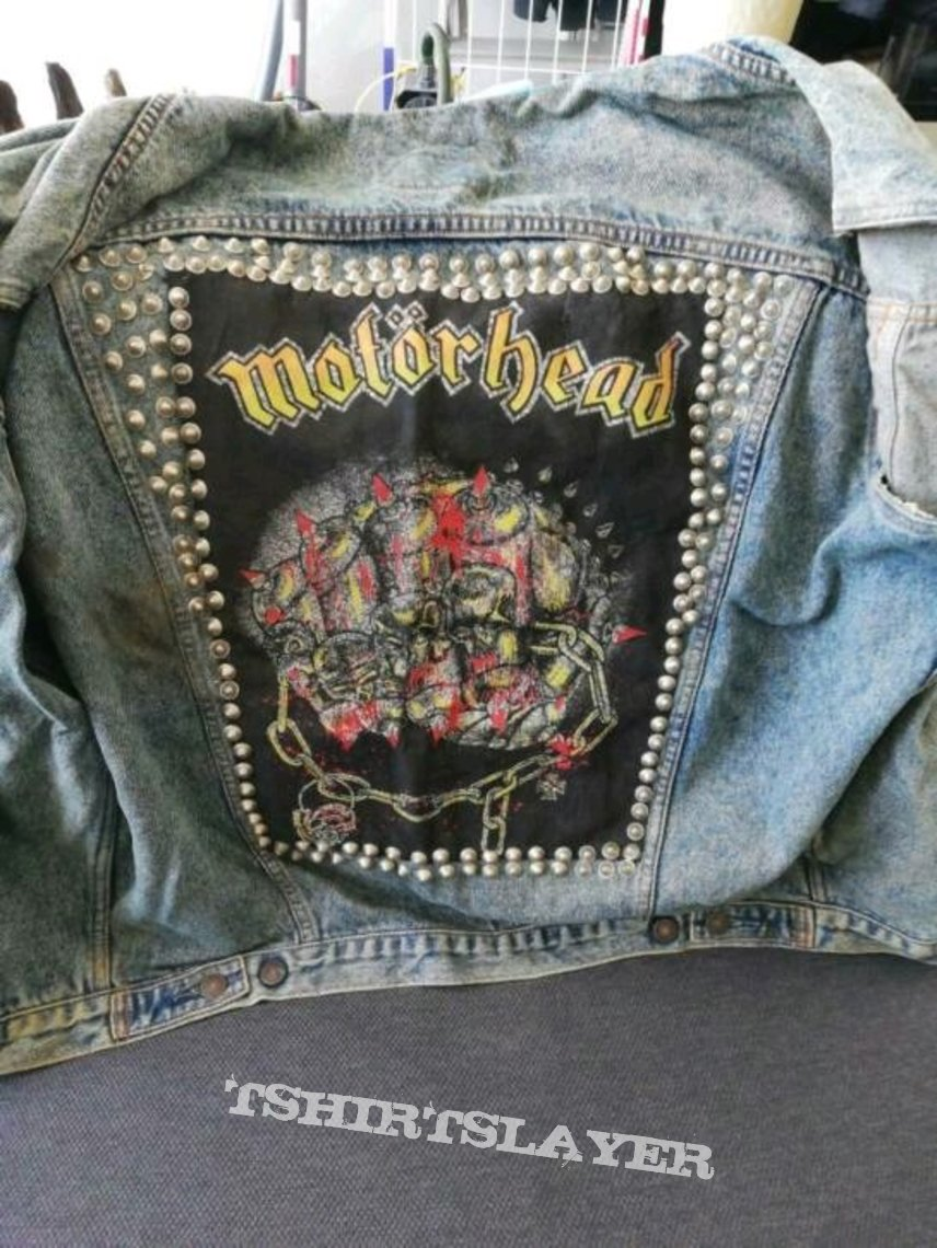 Motörhead Iron Fist Backpatch