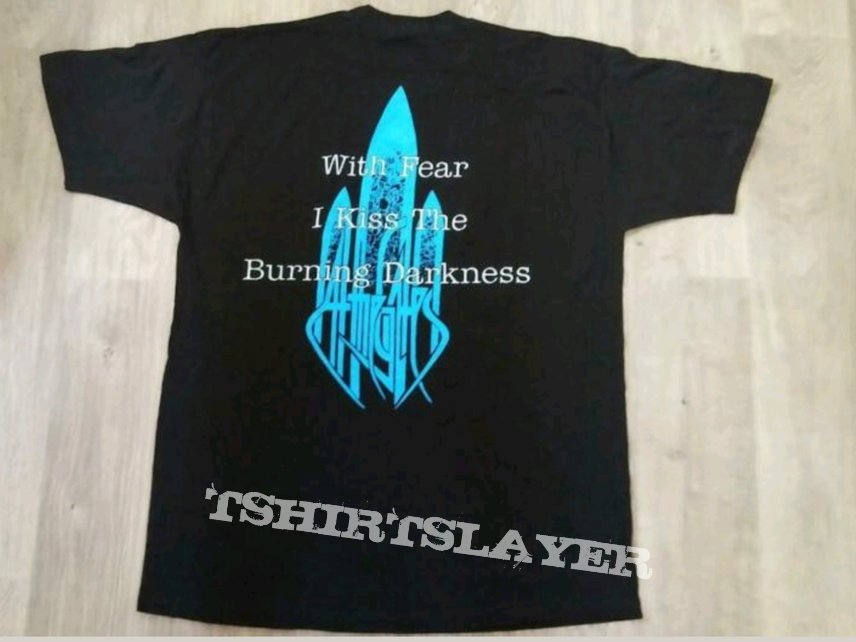 1993 At The Gates With Fear I Kiss The Burning Darkness Shirt XL