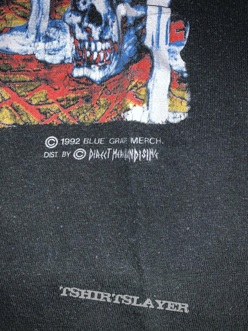 1993 Cannibal corpse European tour shirt