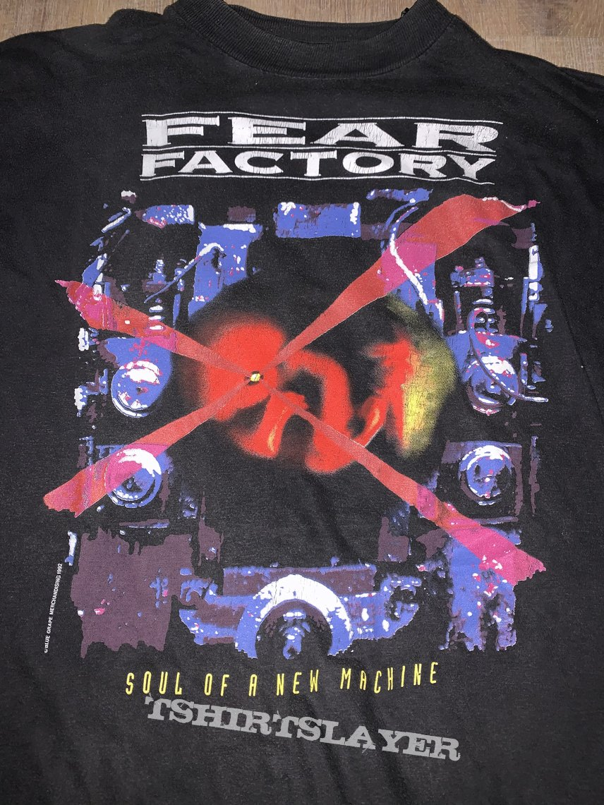 1993 Fear Factory Soul Of A New Machine Tour Longsleeve Shirt