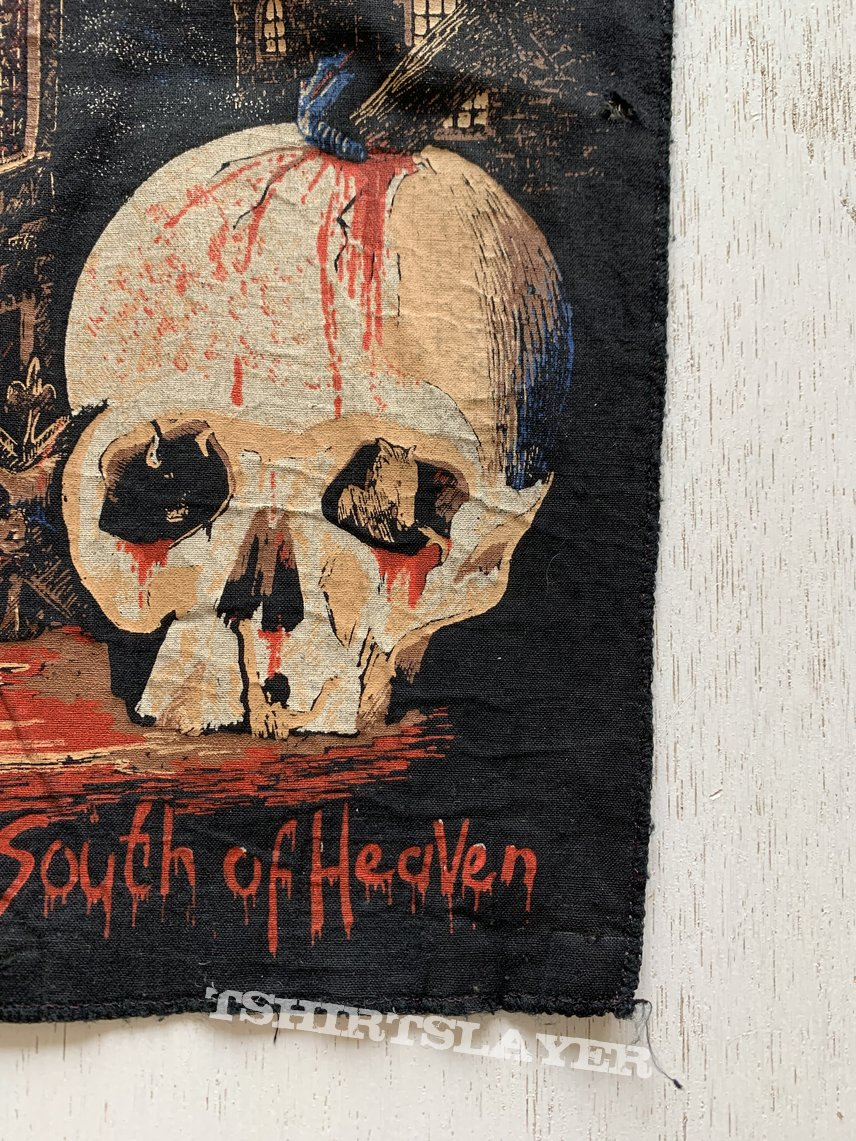 1980s Slayer South Of Heaven Backpatch