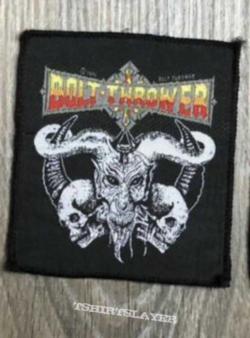 1991 Bolt Thrower Cenotaph patch