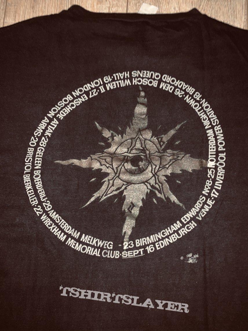 1990 Autopsy European Tour Shirt L