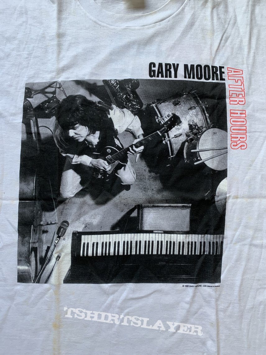 1992 Gary Moore After Hours Tour Shirt L