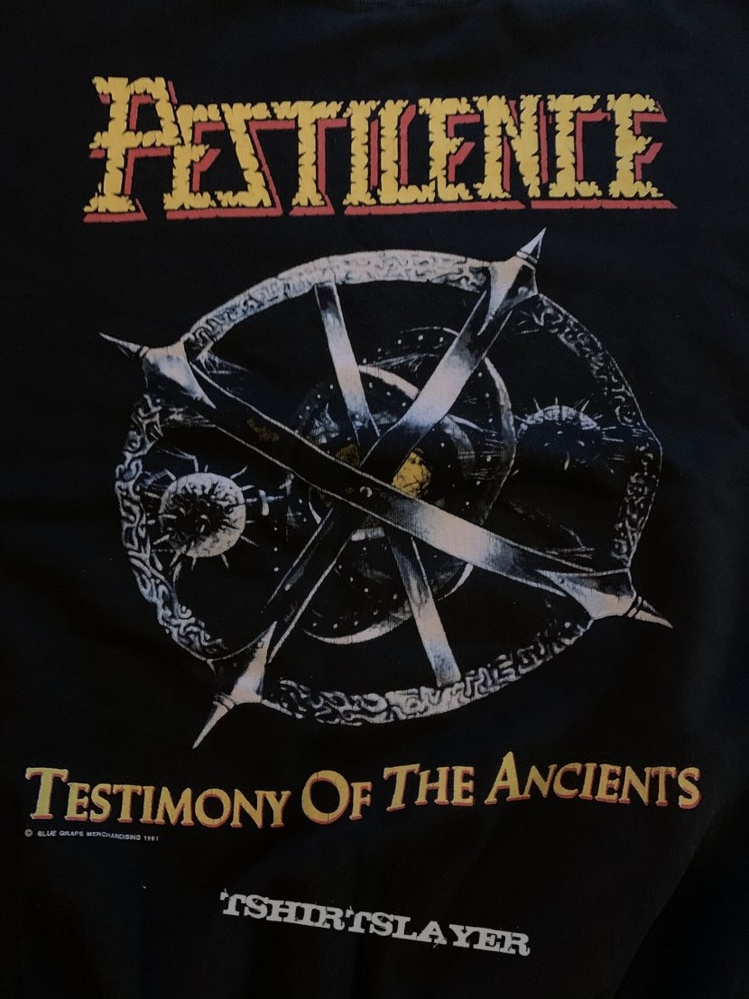 1991 Pestilence Testimony Of The Ancient Sweater XL