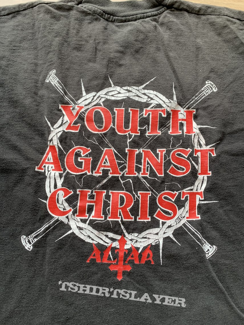 1994 Altar Youth Against Christ Longsleeve XL