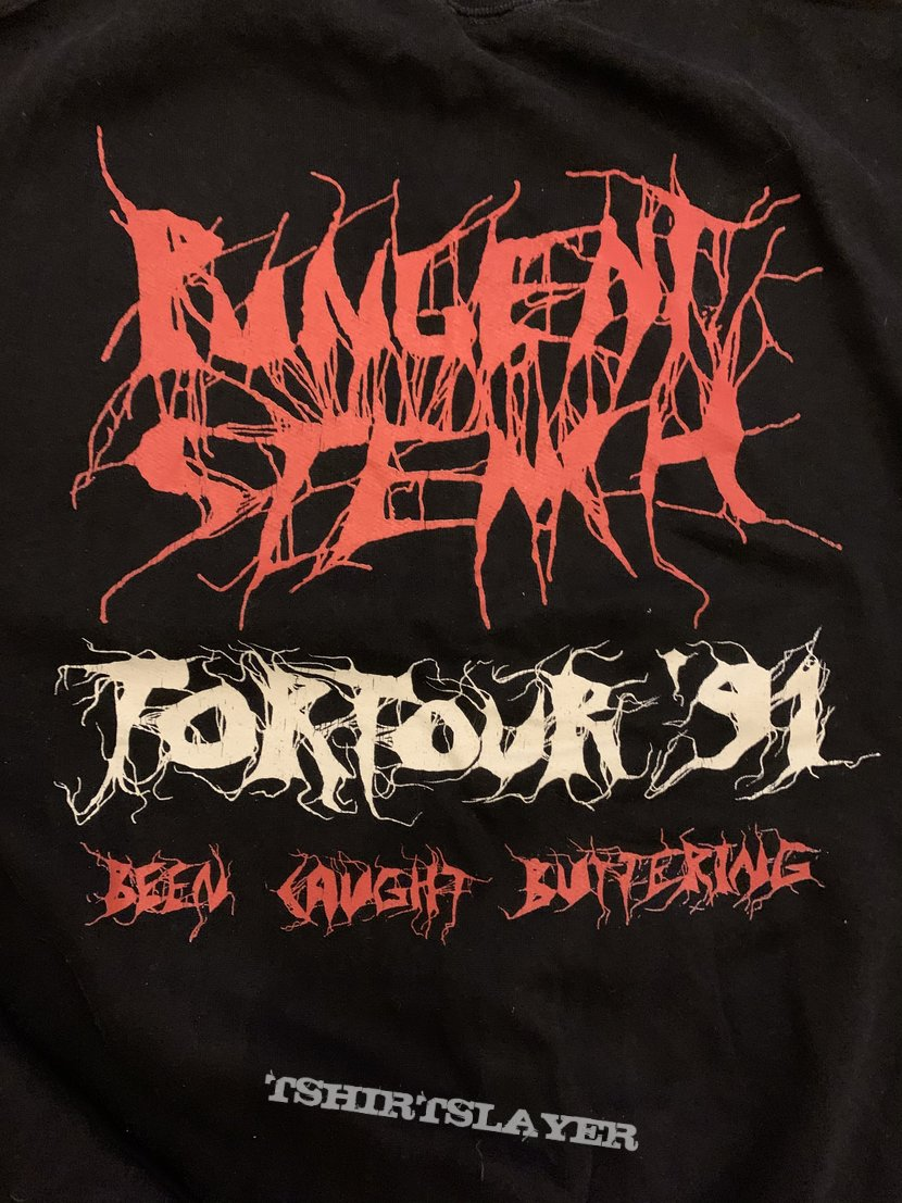 1991 Pungent Stench Been Caught Butchering TorTour Sweater L