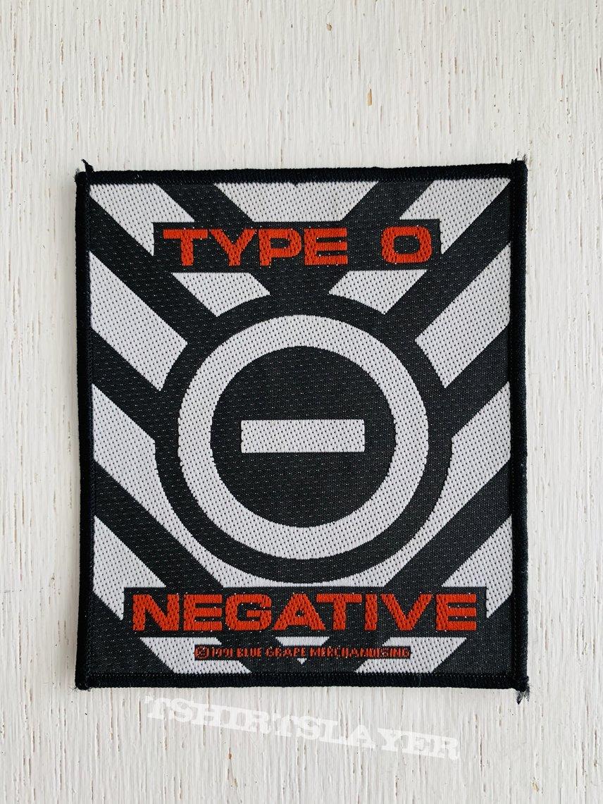 1991 Type O Negative Patch