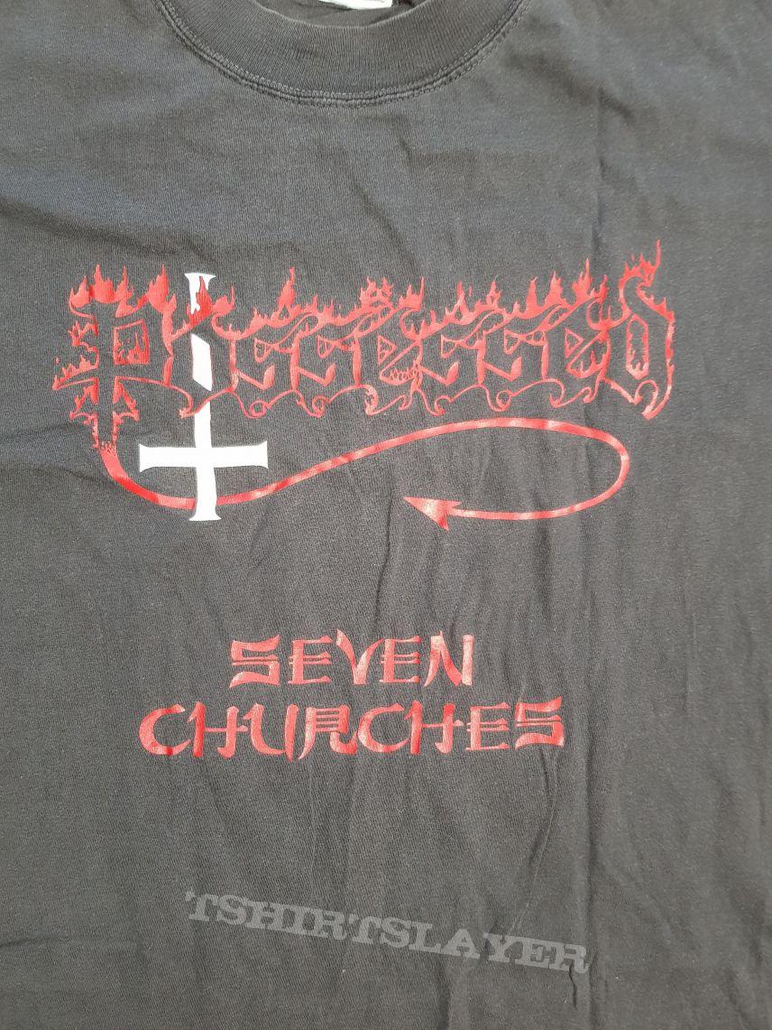 1980s Possessed Seven Churches Shirt