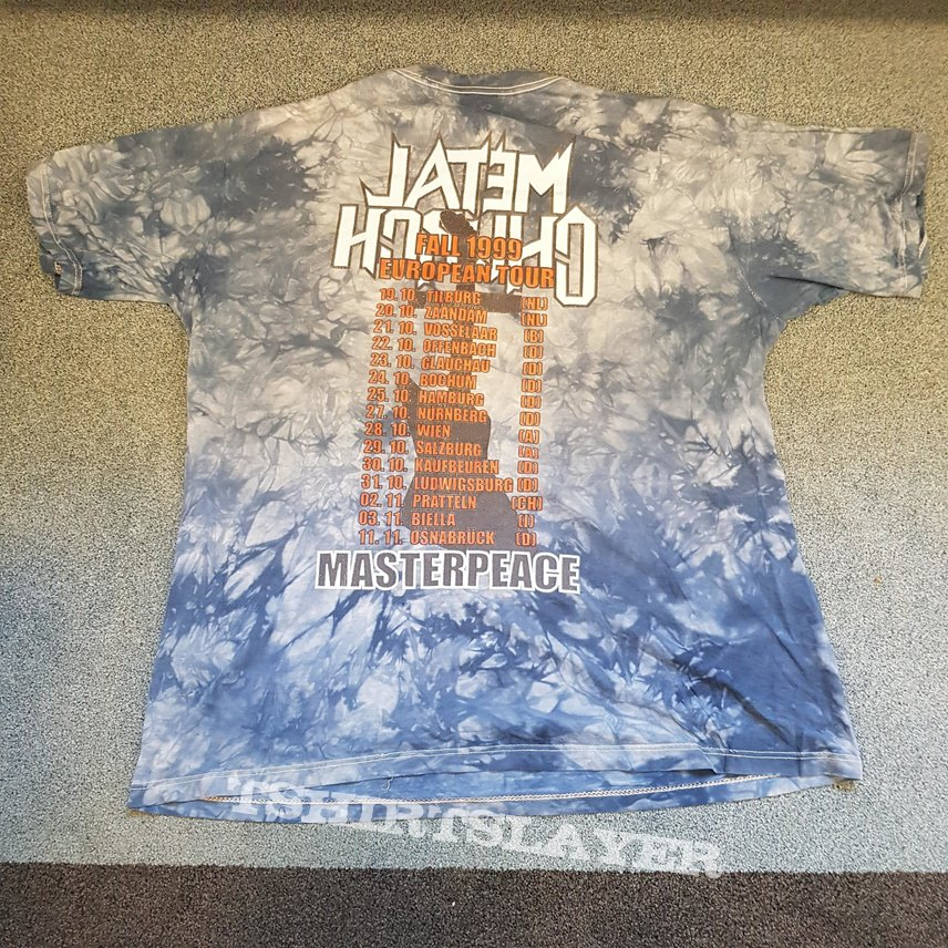 1999 Metal Church Masterpeace tour shirt xl