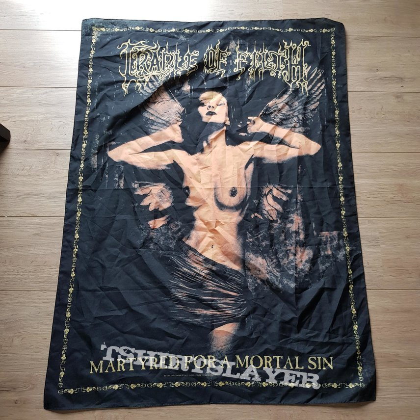 1990s Cradle Of Filth Flags
