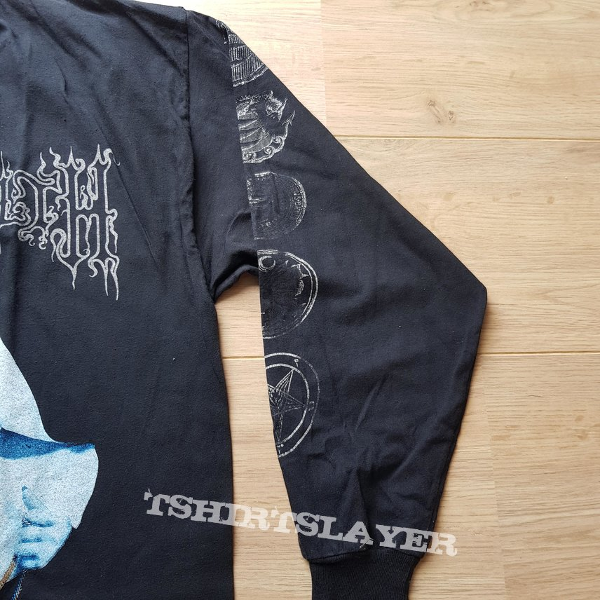 1998 Cradle Of Filth Decadence Is A Virtue Longsleeve Shirt XL