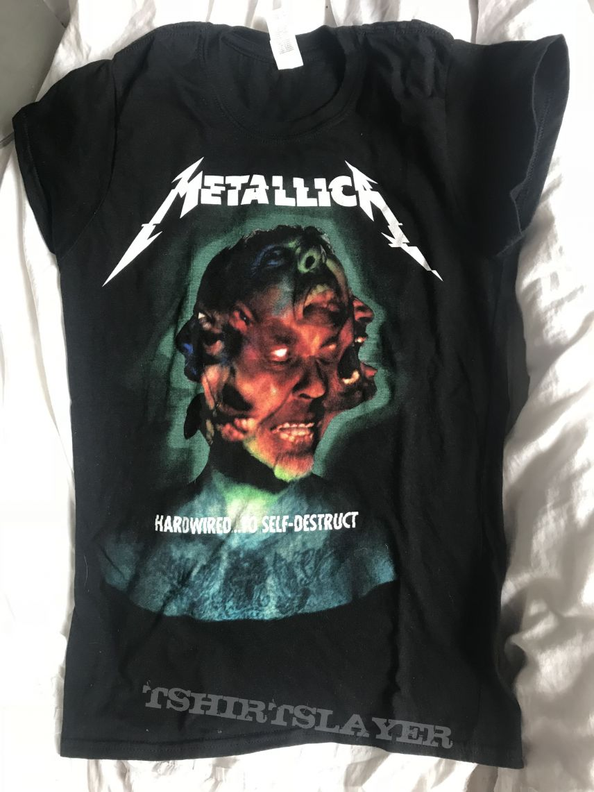 Metallica tourshirt