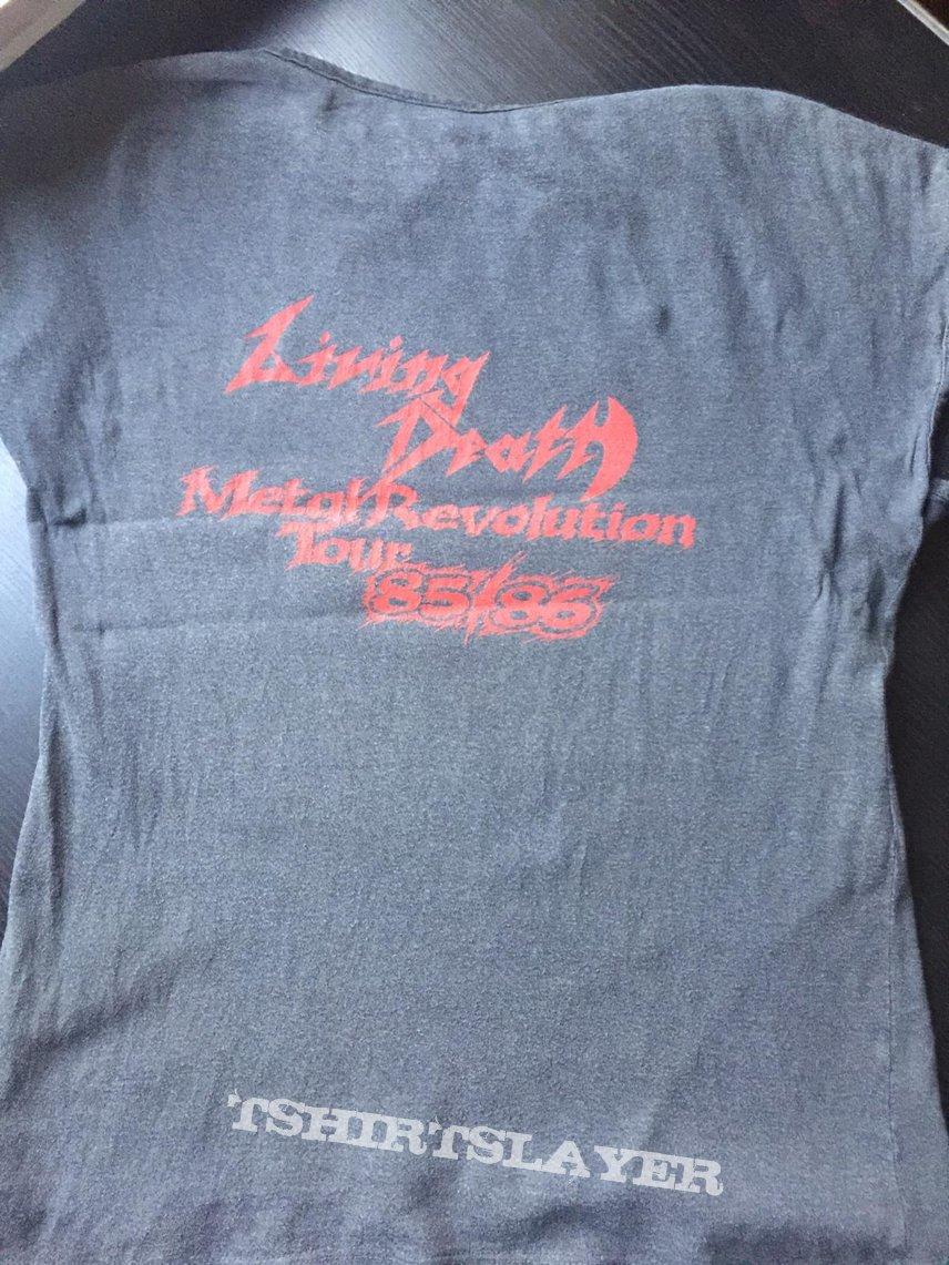 Living Death Metal Revolution Tour Shirt vintage