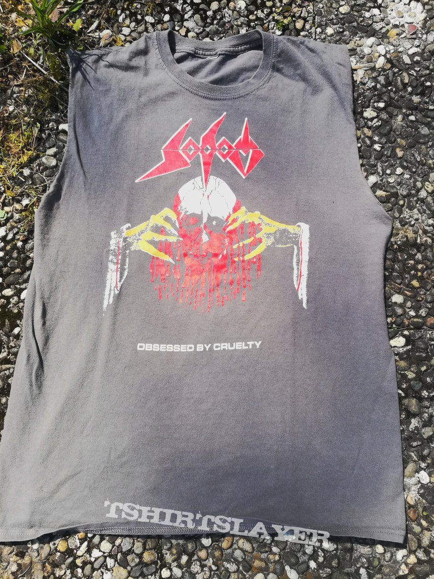 Sodom Obsessed by Cruelty (Equinox) US Version Shirt