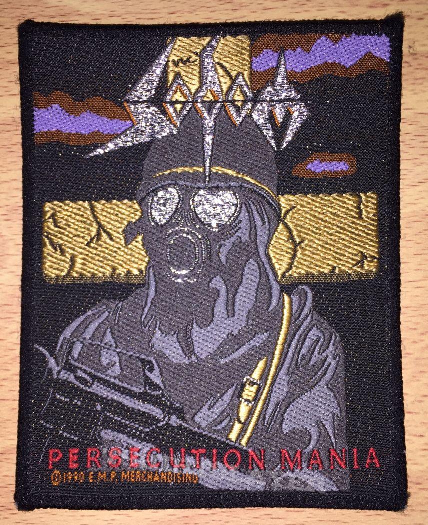 Vintage Sodom Persecution Mania Woven Patch | TShirtSlayer TShirt