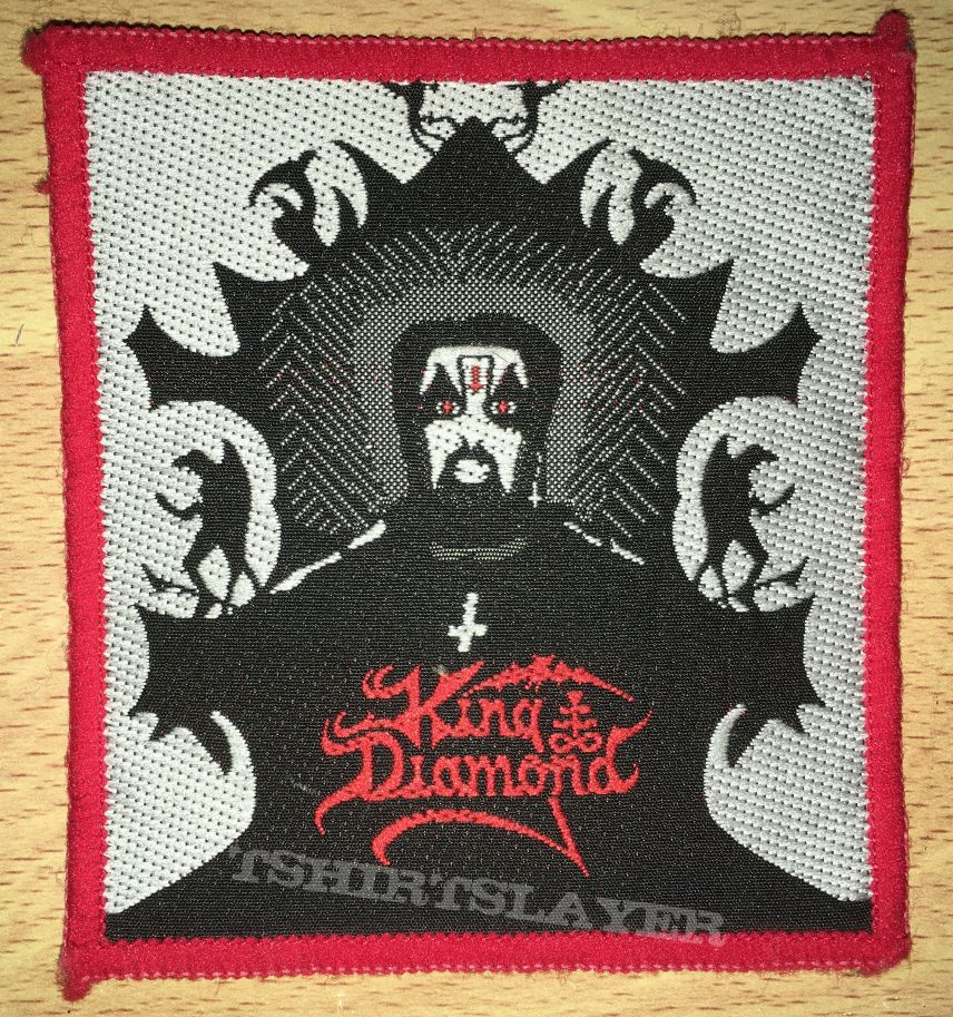 Vintage King Diamond Woven Patch