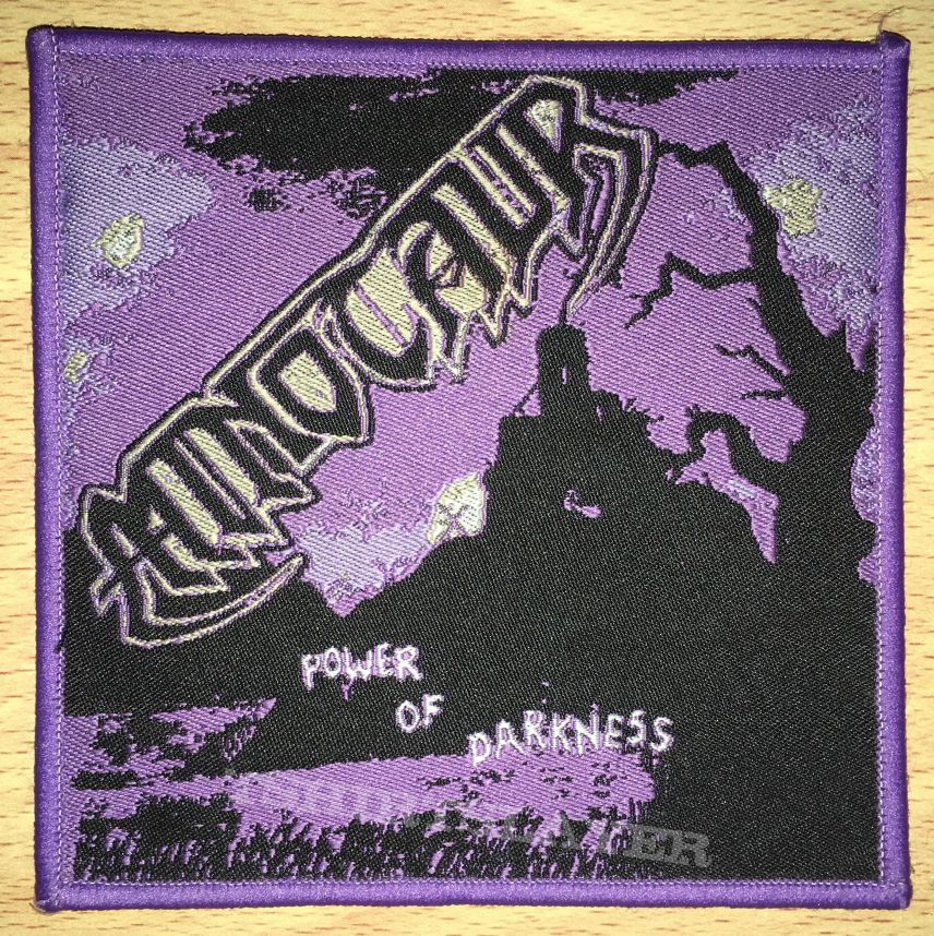 Minotaur Power Of Darkness Woven Patch