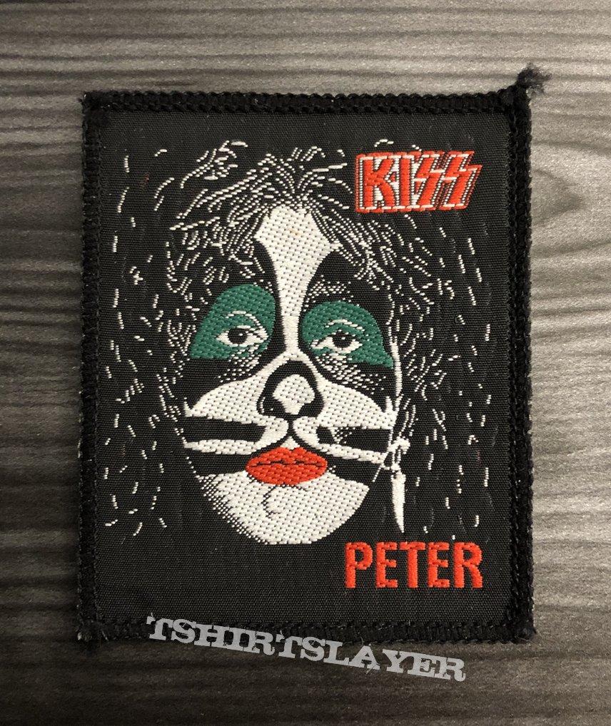 Vintage Kiss Peter Criss Woven Patch