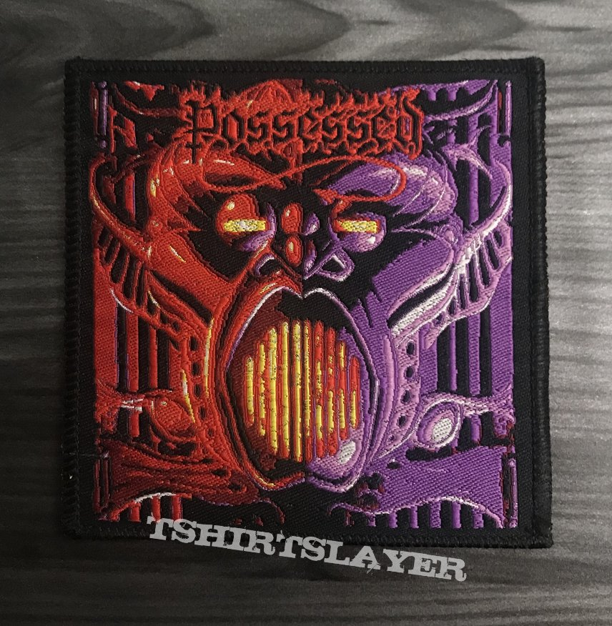 Possessed Beyond The Gates Woven Patch
