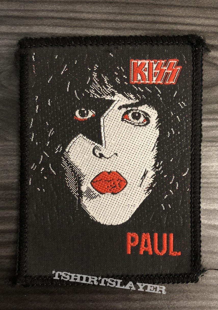 Vintage Kiss Paul Stanley Woven Patch