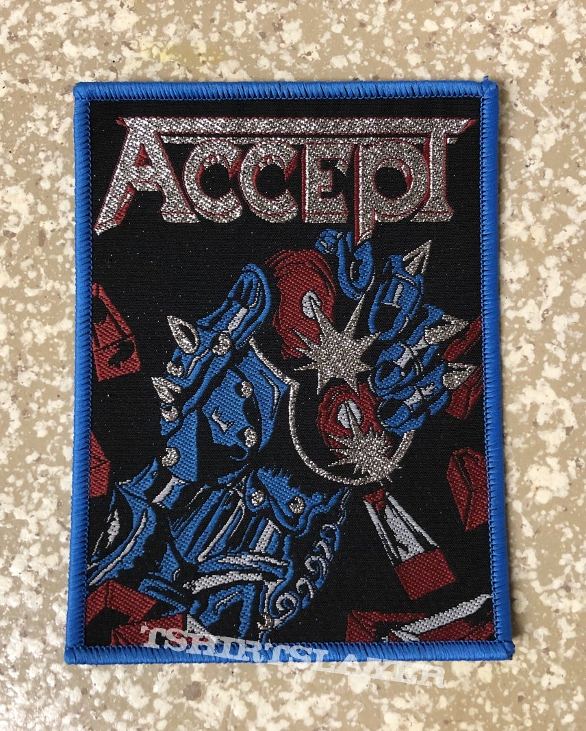 Accept Balls To The Wall Woven Patch