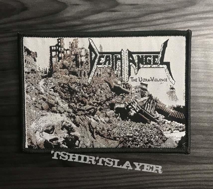 Death Angel The Ultra Violence Woven Patch (Black Border)