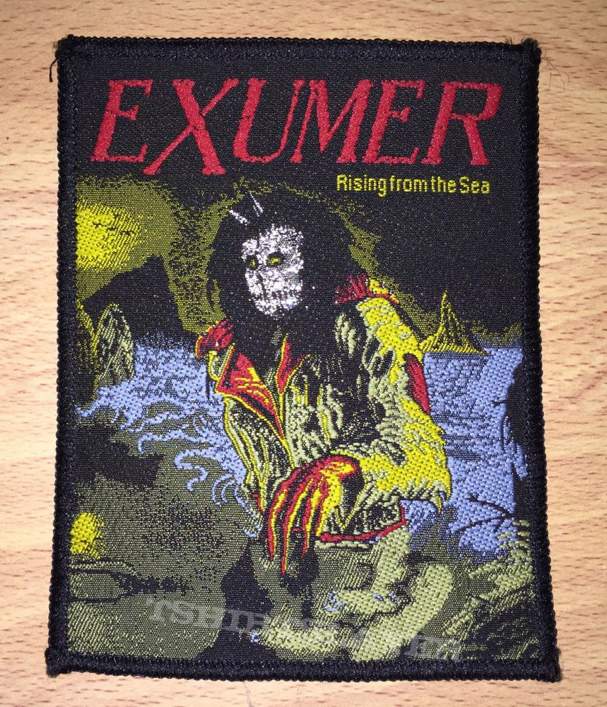 Vintage Exumer Rising From The Sea Woven Patch