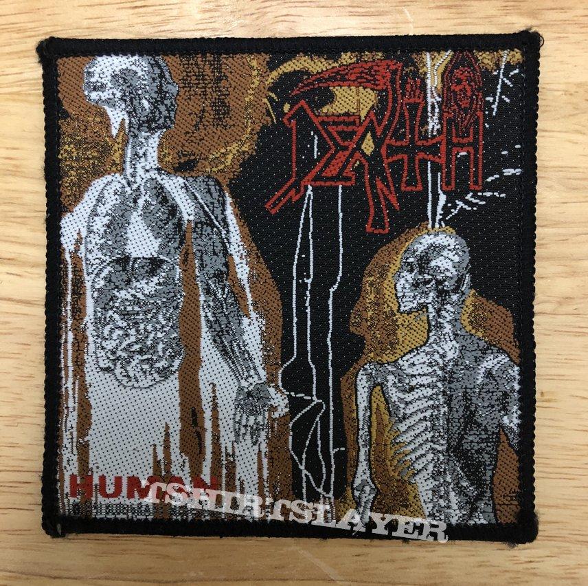 Death Human Vintage Woven Patch
