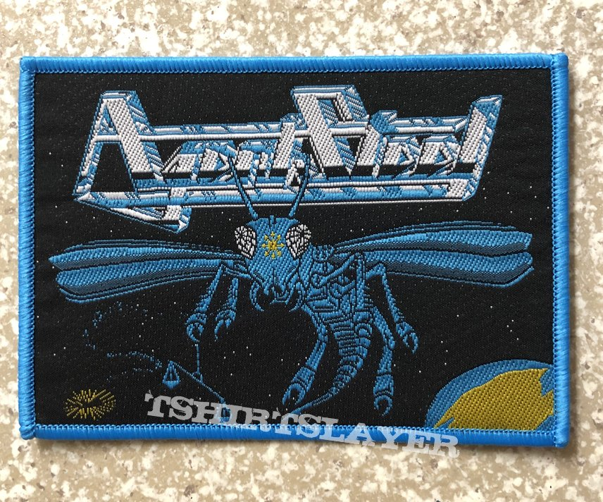 Agent Steel Mad Locust Rising Woven Patch