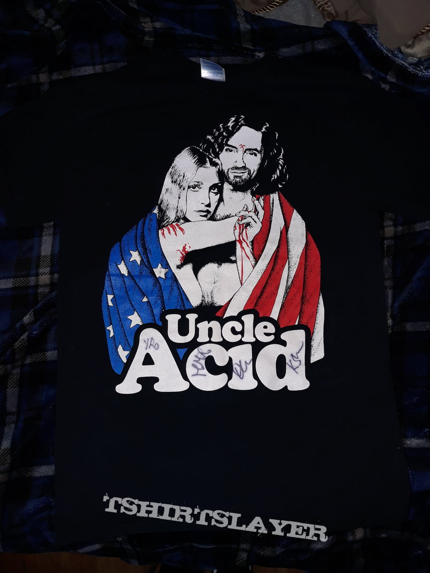 Uncle acid- Maryland deathfest 2014 signed shirt