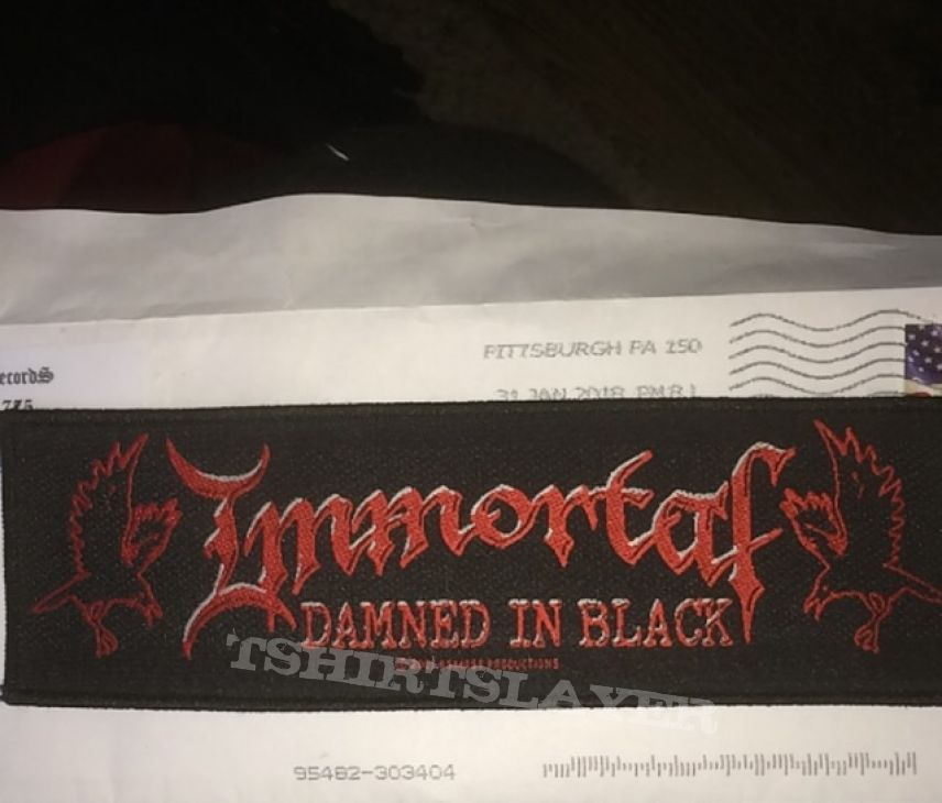 Immortal strip patch