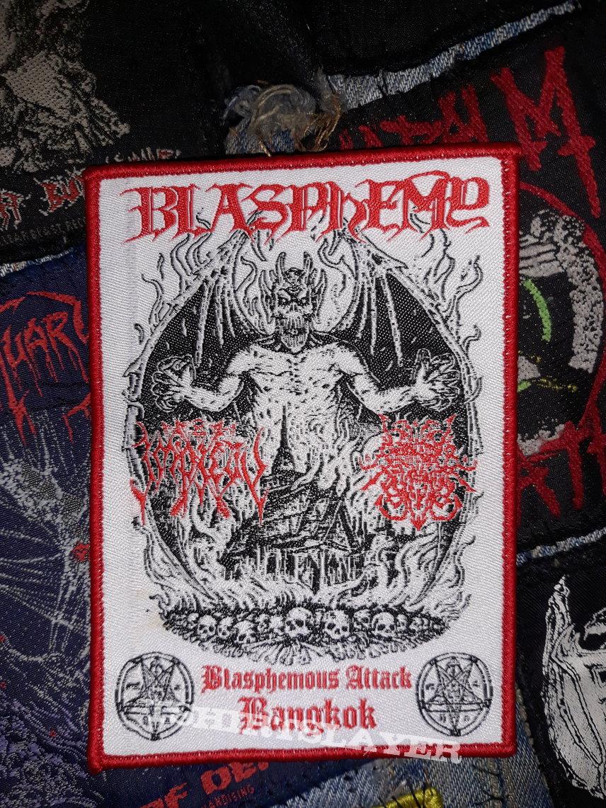 Blasphemy - blasphemous attack Bangkok patch