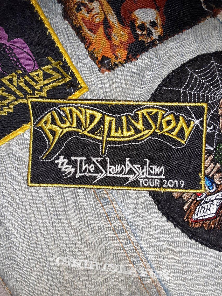 Blind illusion the sane asylum 2019 tour patch