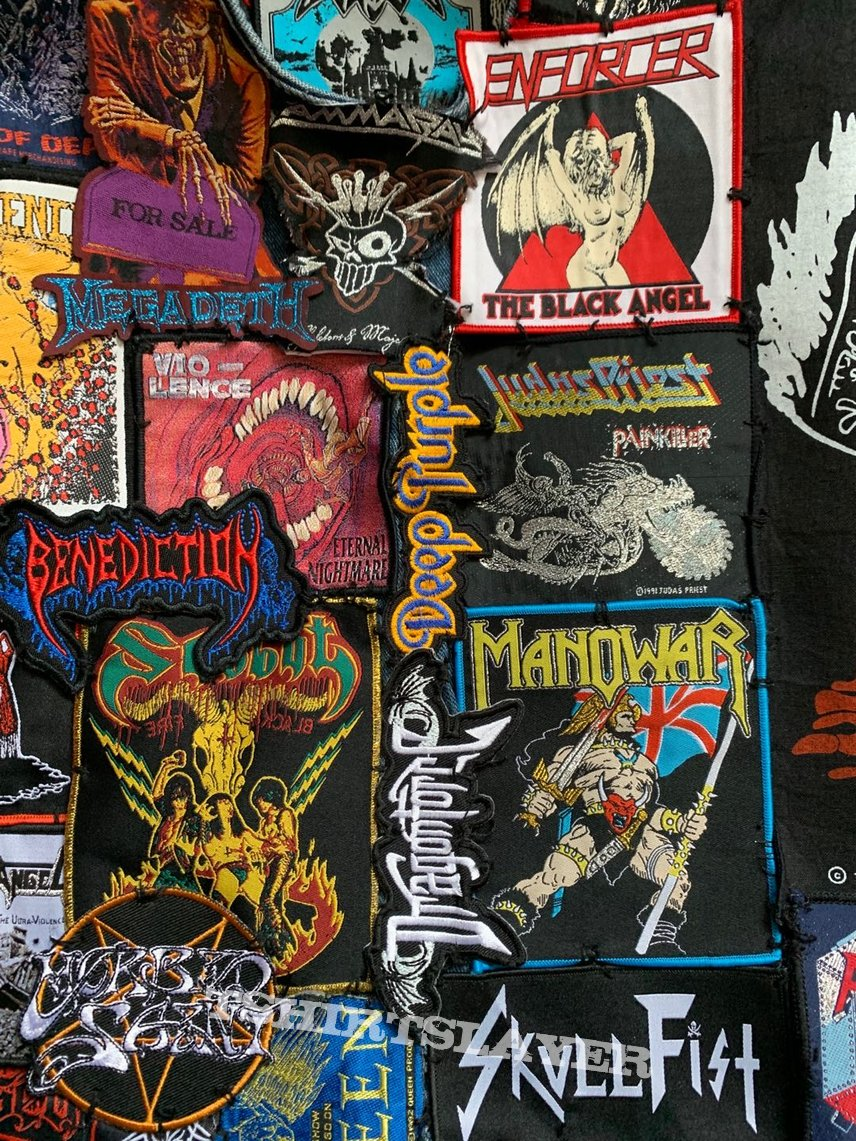 My Battle Vest(Front-Full of death chaos and madness,Back-Full Of Power And Passion)