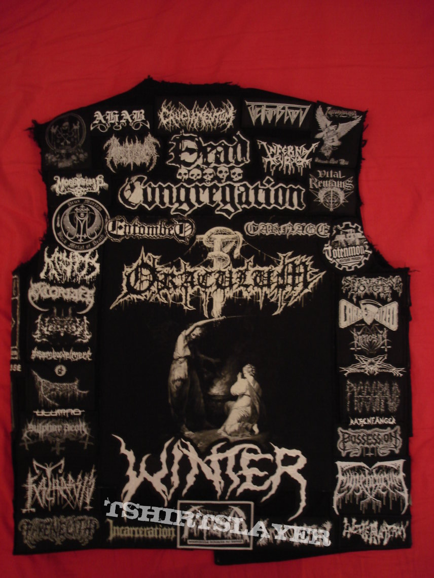 Second Vest (Black/White/Grey ---------- Death, War, Black, Doom)