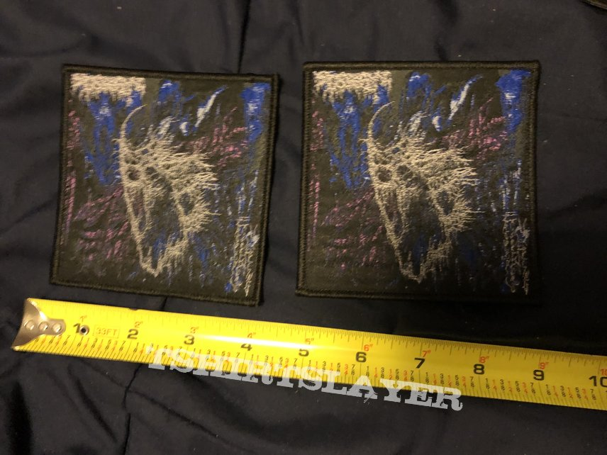 """Spectral Voice Eroded Corridors Of Unbeing 4""""Square Patch"""